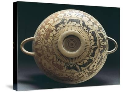Corinthian Pottery from Apulia, Italy--Stretched Canvas Print