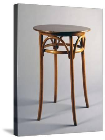 Thonet Style Table, 1920, Bentwood, Italy--Stretched Canvas Print