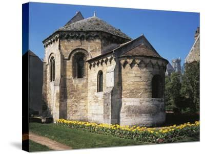 The Octagonal Knights Templar Chapel, Ca 1134, Laon, France--Stretched Canvas Print