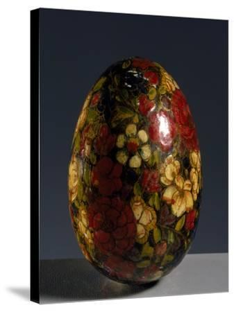 Glass Egg--Stretched Canvas Print