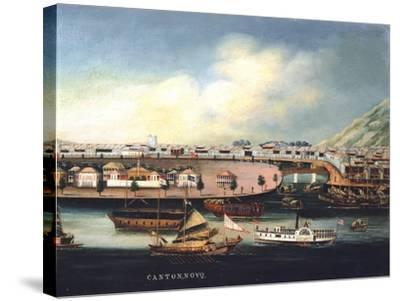 View of Canton--Stretched Canvas Print