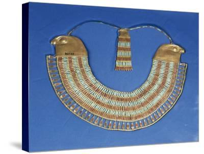 Egypt, Cairo, Necklace That Belonged to Princess Neferuptah, Twelfth Dynasty--Stretched Canvas Print