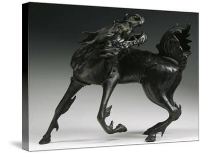Horse, Bronze Statue, China--Stretched Canvas Print