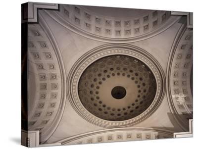 Dome, Church of Sant'Antonio Taumaturgo, Trieste, Friuli-Venezia Giulia, Italy--Stretched Canvas Print
