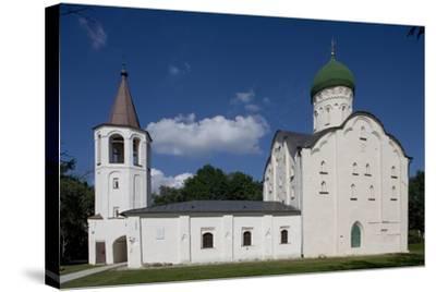 Russia, Veliky Novgorod, Saint Theodore's Church Exterior--Stretched Canvas Print