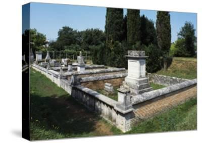 Roman Burial Ground, Aquileia, Friuli -Venezia Giulia, Italy, 1st-4th Century--Stretched Canvas Print