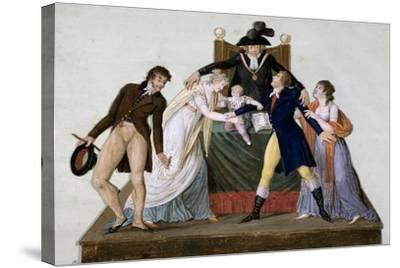 Divorce, Reconciliation--Stretched Canvas Print