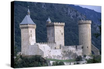 Foix Castle, Midi-Pyrenees. France, 11th-15th Century--Stretched Canvas Print