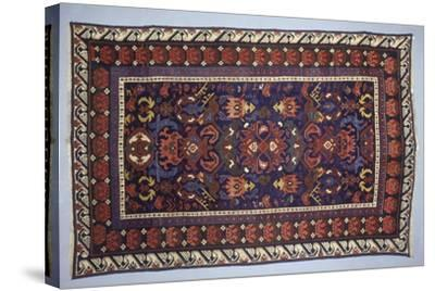 Rugs and Carpets: Azerbaijan - Bidjov Carpet--Stretched Canvas Print