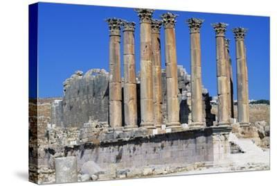 Corinthian Columns of Temple of Artemis, 150-170--Stretched Canvas Print