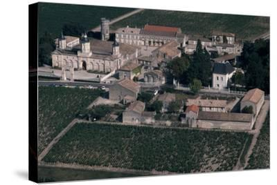 Aerial View of Chateau De Mouton-Rothschild, France--Stretched Canvas Print