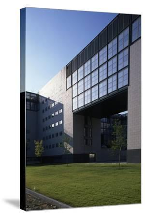 Siemens Building, Designed by Gregotti E Associates, Milan, Italy--Stretched Canvas Print