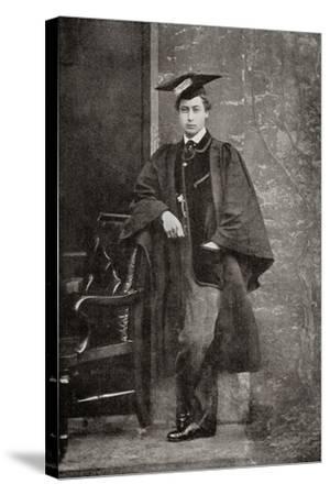 Albert Edward, Prince of Wales, 1841 – 1910, Future King Edward VII--Stretched Canvas Print