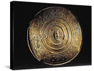 Bronze Shield from Nackhalle, Sweden--Stretched Canvas Print