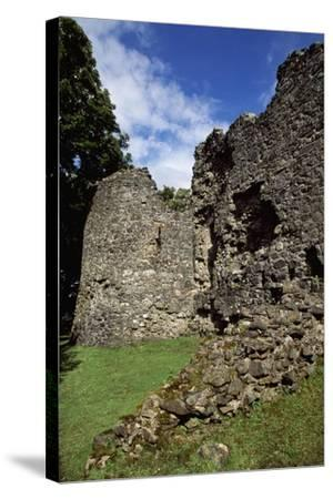 View of Inverlochy Castle, Near Fort William, Inverness-Shire, Scotland, 13th Century--Stretched Canvas Print