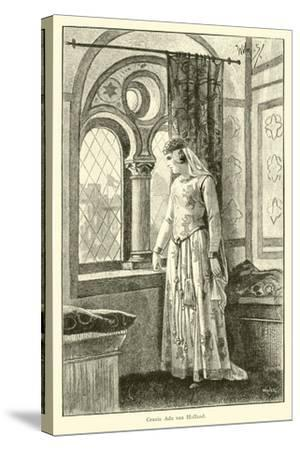 Countess Ada of Holland-Willem II Steelink-Stretched Canvas Print