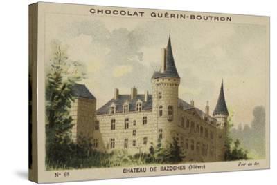 Chateau De Bazoches, Nievre--Stretched Canvas Print