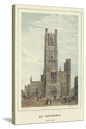 Ely Cathedral, West Front--Stretched Canvas Print
