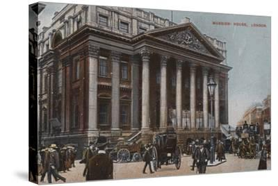 Mansion-House, London--Stretched Canvas Print
