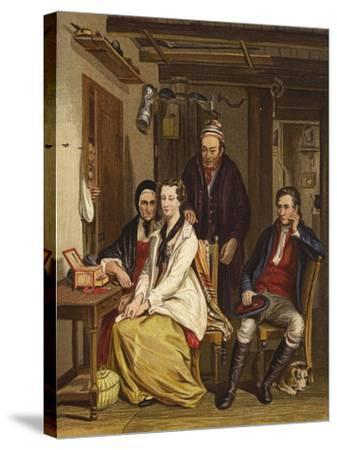 Duncan Grey-Sir David Wilkie-Stretched Canvas Print