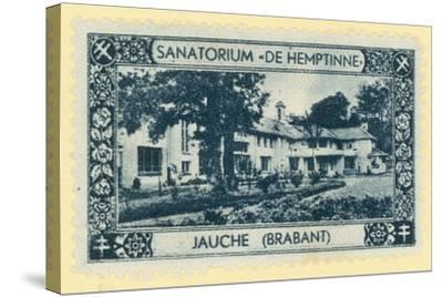 De Hemptinne Sanatorium, Jauche, Brabant, Belgium--Stretched Canvas Print