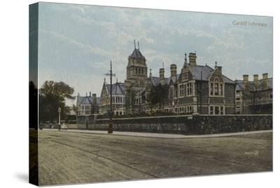 Cardiff Infirmary--Stretched Canvas Print