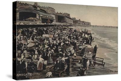 The Sands, Ramsgate--Stretched Canvas Print