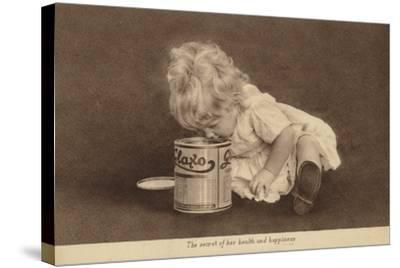 Advertisement for Glaxo Baby Food--Stretched Canvas Print