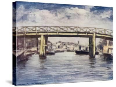 The Lemon Bridge-Mortimer Ludington Menpes-Stretched Canvas Print