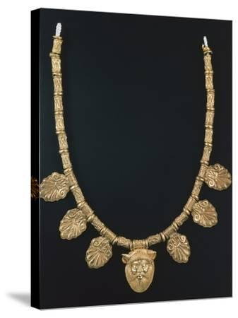 Gold Necklace from Praeneste--Stretched Canvas Print