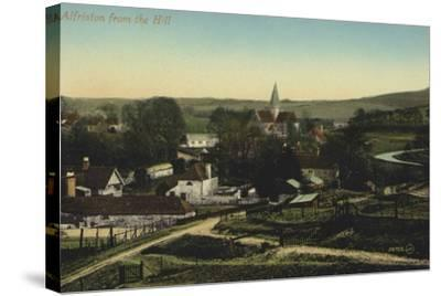 Alfriston, Sussex--Stretched Canvas Print