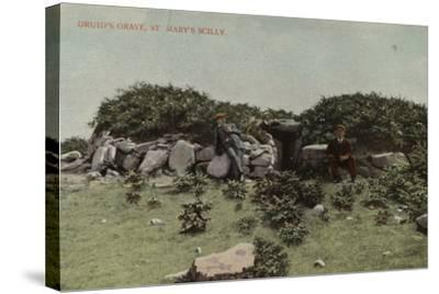 Druid's Grave, St Mary's Scilly--Stretched Canvas Print