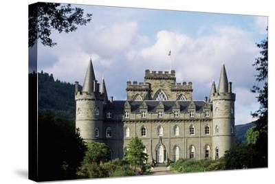 Exterior of Inveraray Castle, Argyll, Scotland--Stretched Canvas Print