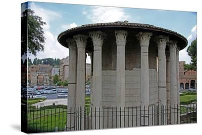 The Temple Ercole Vincitore--Stretched Canvas Print