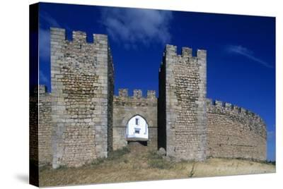 Detail of the Masonry of Arraiolos Castle, 16th Century, Portugal--Stretched Canvas Print