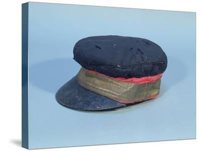 Cap with a Gold Band Worn by David Livingstone--Stretched Canvas Print