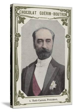 Sadi-Carnot, President--Stretched Canvas Print