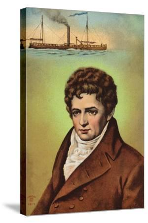 Robert Fulton--Stretched Canvas Print
