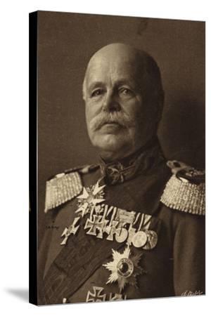 General Von Eichorn--Stretched Canvas Print