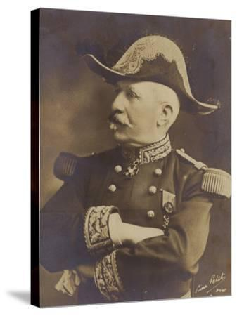 General De Castelnau--Stretched Canvas Print