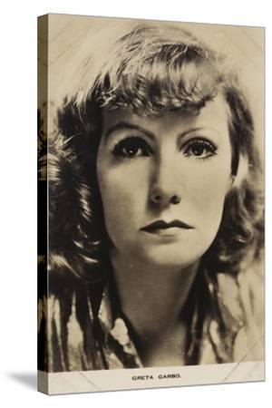 Greta Garbo, Swedish Actress and Film Star--Stretched Canvas Print