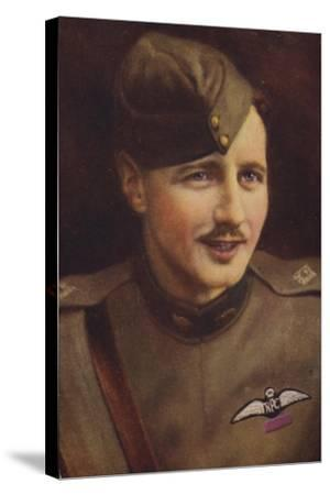 William Leefe Robinson VC--Stretched Canvas Print