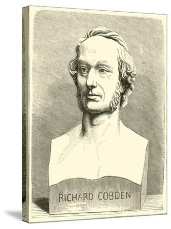 Richard Cobden--Stretched Canvas Print