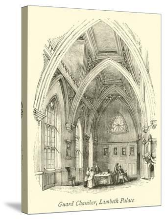 Guard Chamber, Lambeth Palace--Stretched Canvas Print