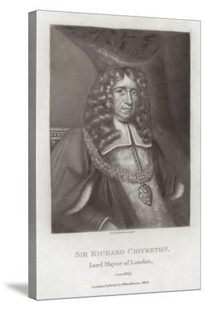 Sir Richard Chiverton--Stretched Canvas Print