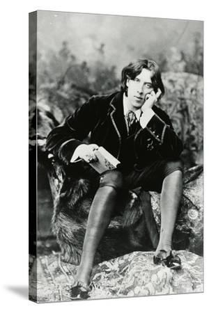 Oscar Wilde--Stretched Canvas Print