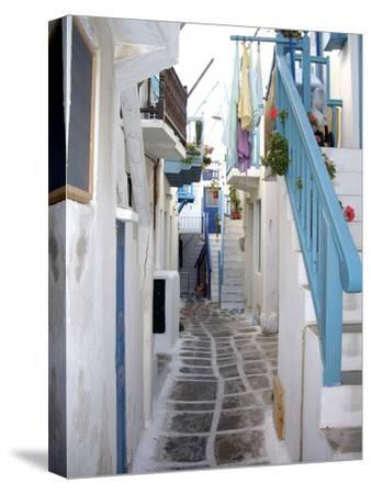 Mykonos, Greece, 2007--Stretched Canvas Print
