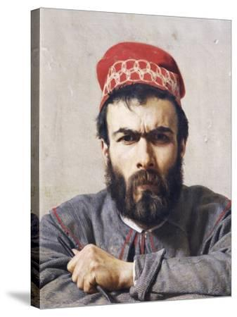 Portrait of Sculptor Emilio Zocchi--Stretched Canvas Print