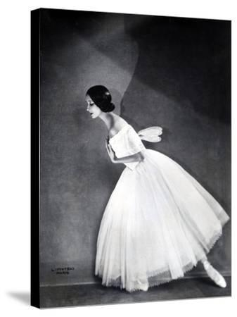 Ballerina--Stretched Canvas Print