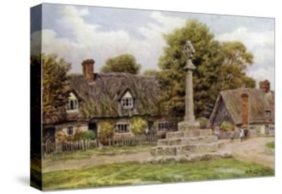 Long Wittenham, Berks-Alfred Robert Quinton-Stretched Canvas Print